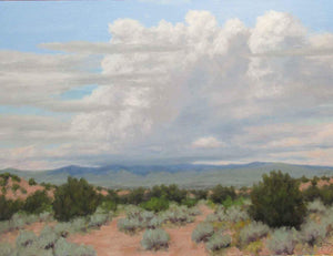 Stephen Day-Summer Clouds – Near Santa Fe-Sorrel Sky Gallery-Painting