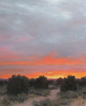 The Horizon Aglow-Painting-Stephen Day-Sorrel Sky Gallery