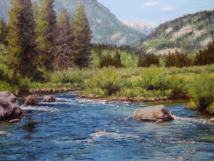 Stephen Day-Up Stream View-Sorrel Sky Gallery-Painting