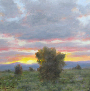 Valley Sunset-Painting-Stephen Day-Sorrel Sky Gallery