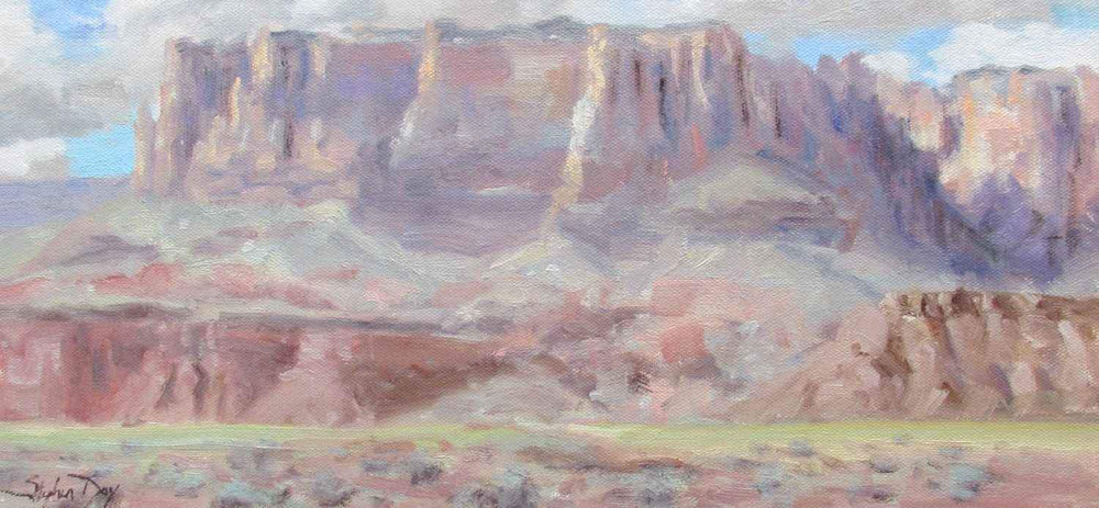 Stephen Day-Vermillion Cliffs-Sorrel Sky Gallery-Painting
