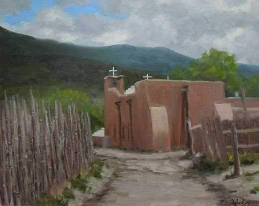 Stephen Day-Village Center-Sorrel Sky Gallery-Painting
