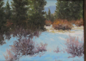 Willows and Snow-Painting-Stephen Day-Sorrel Sky Gallery