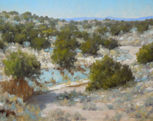 Stephen Day-Winter Arroyo-Sorrel Sky Gallery-Painting