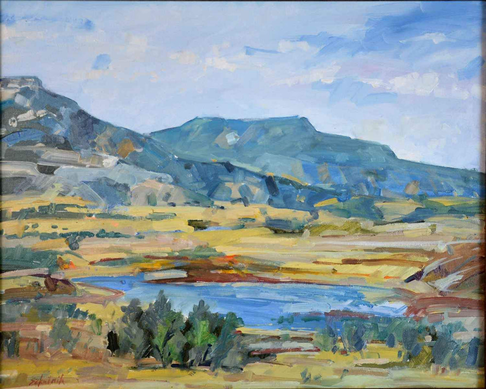Abiquiu Reservoir-Painting-Szkutnik, Richard-Sorrel Sky Gallery