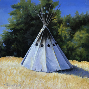 Camped at the Edge-Painting-Tamara Rymer-Sorrel Sky Gallery
