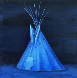 It Was a Blue Moon-Painting-Tamara Rymer-Sorrel Sky Gallery