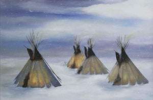 Tamara Rymer-Sorrel Sky Gallery-Painting-No Cold will Touch Them