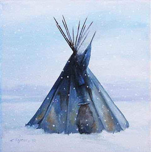 Tamara Rymer-Sorrel Sky Gallery-Painting-The Blue Lodge