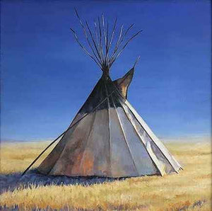 Tamara Rymer-Sorrel Sky Gallery-Painting-They Camped The High Ground