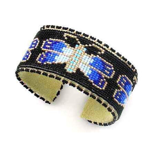 Teri Greeves-Sorrel Sky Gallery-Jewelry-Blue Butterfly Bracelet