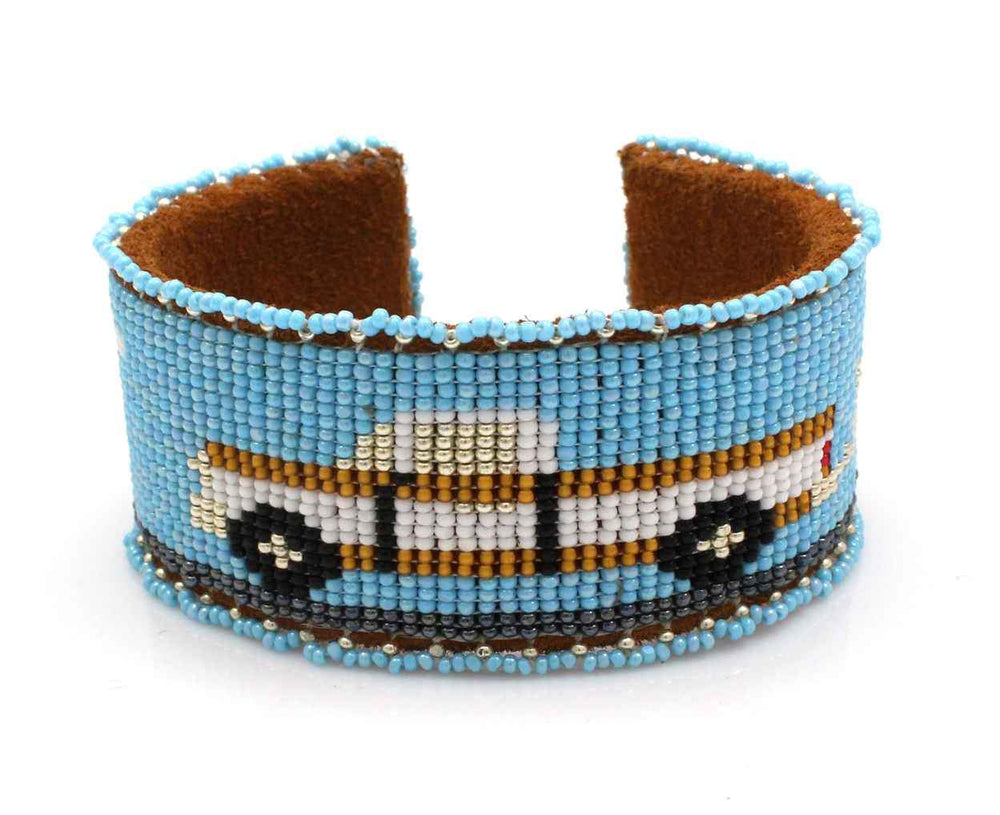 Truck Beaded Cuff Bracelet-Jewelry-Teri Greeves-Sorrel Sky Gallery