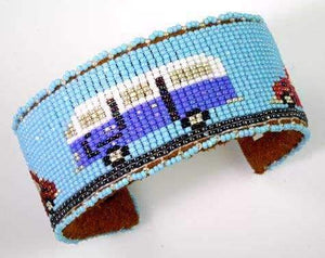 Teri Greeves-Sorrel Sky Gallery-Jewelry-VW Micro Bus Bracelet