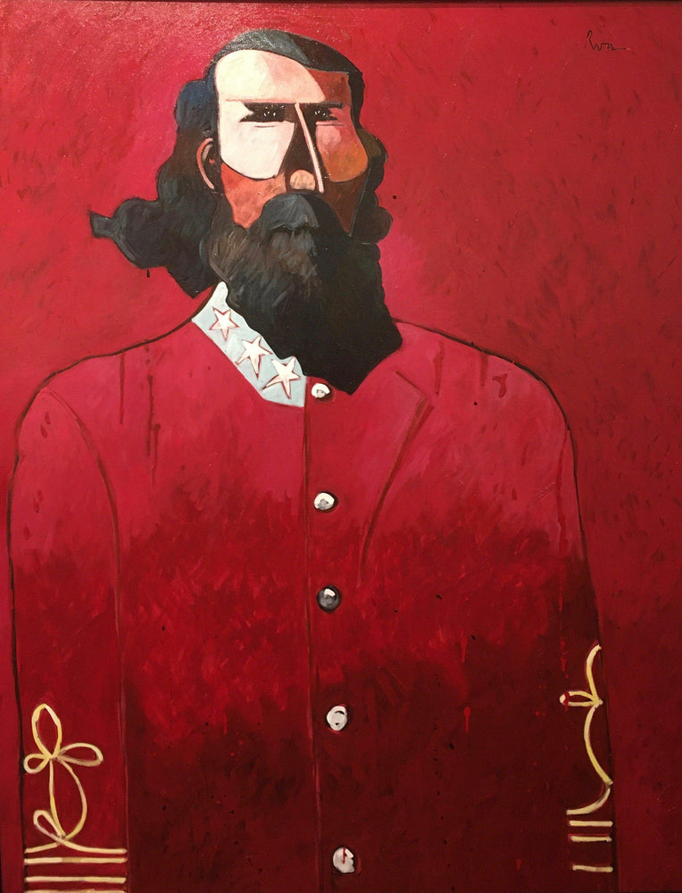 A.P. Hill and His Red Battle Shirt-Painting-Thom Ross-Sorrel Sky Gallery