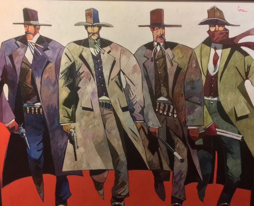Earp Party of 4-Painting-Thom Ross-Sorrel Sky Gallery