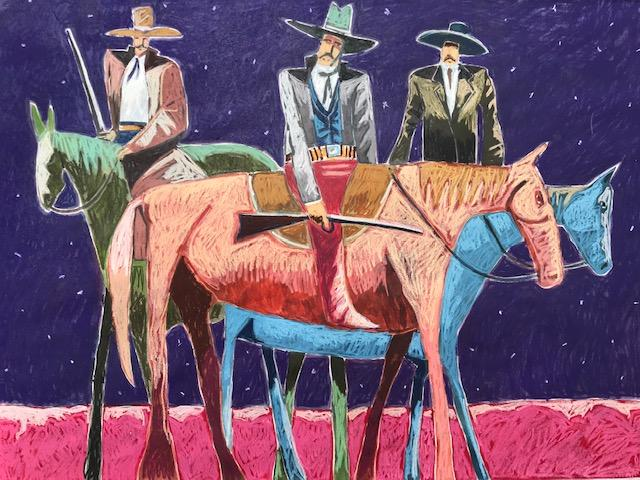 Manhunters-Painting-Thom Ross-Sorrel Sky Gallery