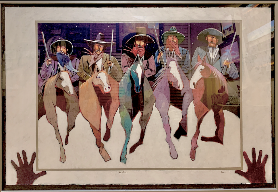 The Posse-Painting-Thom Ross-Sorrel Sky Gallery