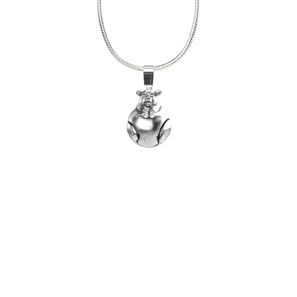 Hog Heaven Pendant-Jewelry-Tim Cherry-Sorrel Sky Gallery