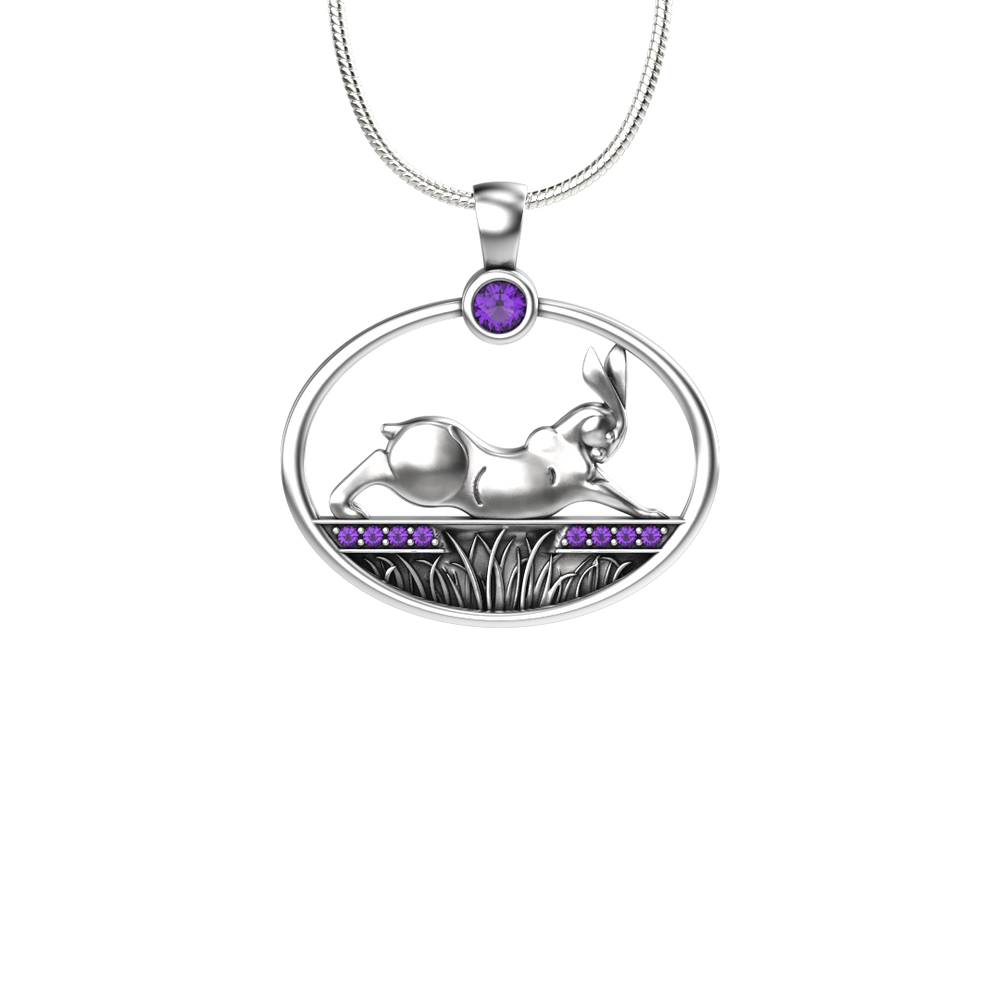 Rabbit Reach Pendant