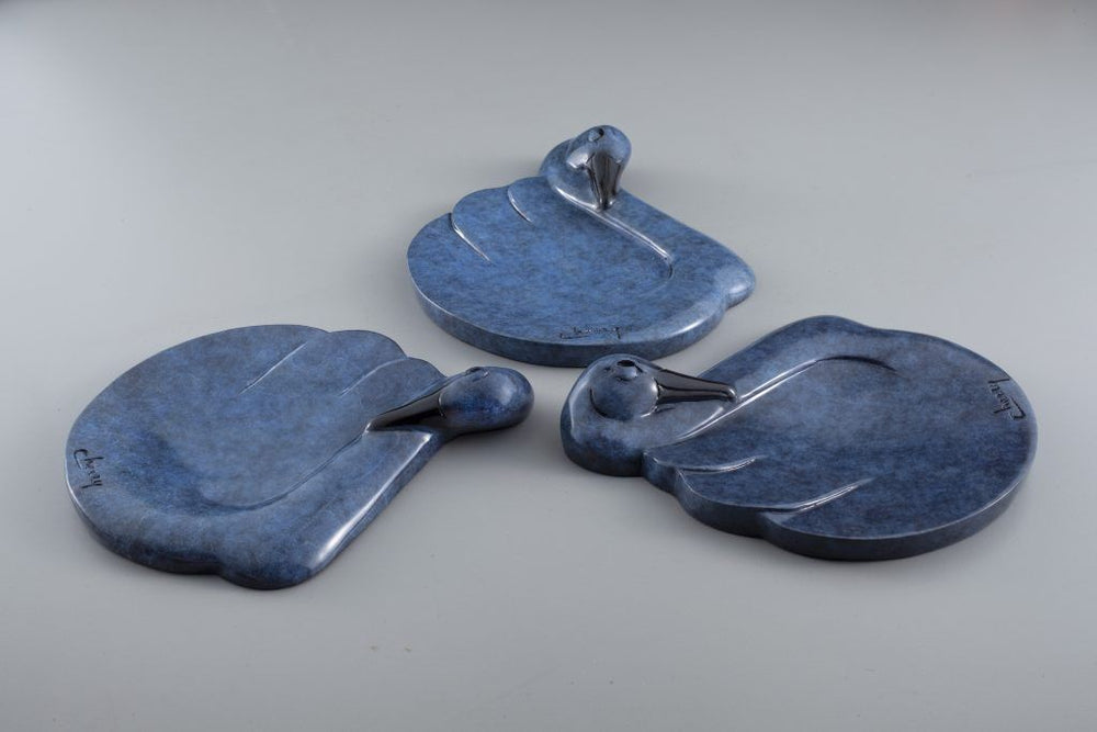 Tranquility Tray – Swan-Sculpture-Tim Cherry-Sorrel Sky Gallery