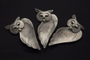 Wisdom – Owl Tray-Sculpture-Tim Cherry-Sorrel Sky Gallery