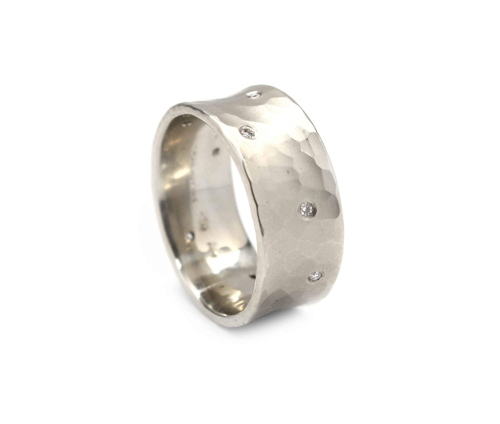 Toby Pomeroy-8mm Diamond Vale Ring-Sorrel Sky Gallery-Jewelry