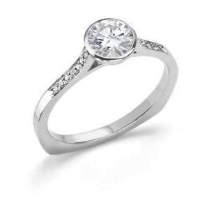 Toby Pomeroy-Aurea Engagement Ring - .50ct-Sorrel Sky Gallery-Jewelry