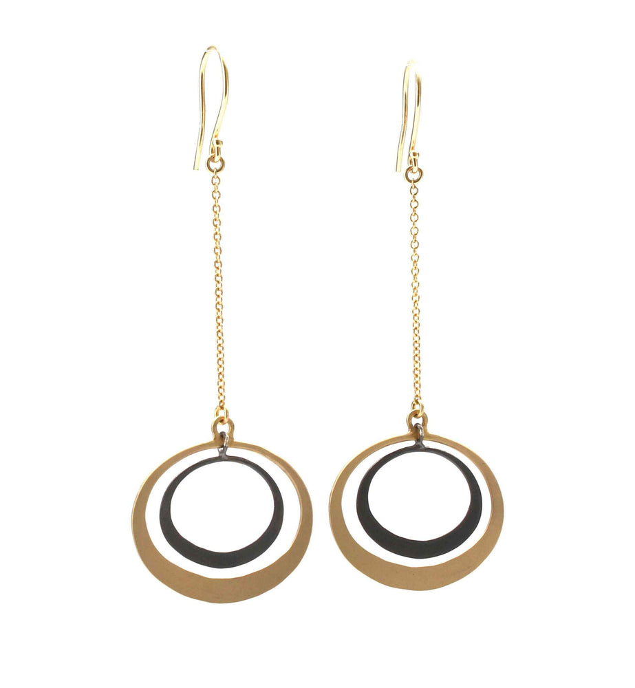 Toby Pomeroy-Petite Eclipse Lunar Earrings-Sorrel Sky Gallery-Jewelry