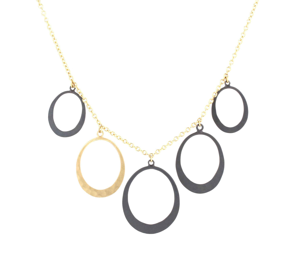 Toby Pomeroy-Petite Oval Necklace-Sorrel Sky Gallery-Jewelry