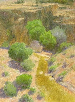 Tom Blazier-Sorrel Sky Gallery-Painting-Canjilon Canyon