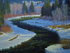 High Country Runoff-Painting-Tom Lockhart-Sorrel Sky Gallery