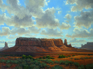 Monumental Skies-Painting-Tom Lockhart-Sorrel Sky Gallery