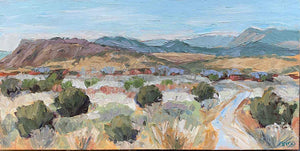 South of Galisteo-Painting-Trigg, Peggy-Sorrel Sky Gallery