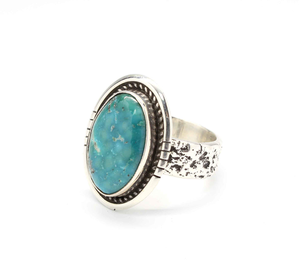 Victor Gabriel-Sorrel Sky Gallery-Jewelry-Nevada Turquoise Ring