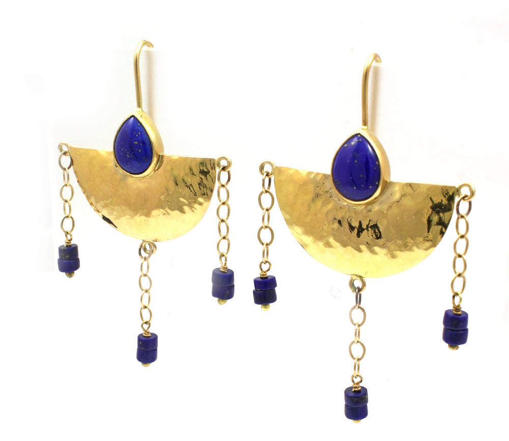 Half Moon in Tuscany Earrings