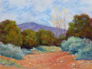 Santa Fe Arroyo-Painting-Wightman, Marilyn-Sorrel Sky Gallery