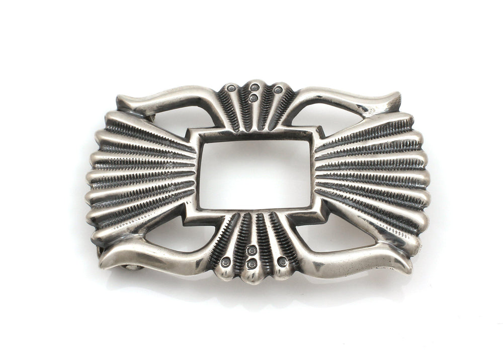 Sandcast Belt Buckle