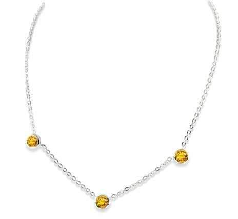 Zina Sterling-Sorrel Sky Gallery-Jewelry-Citrine Necklace