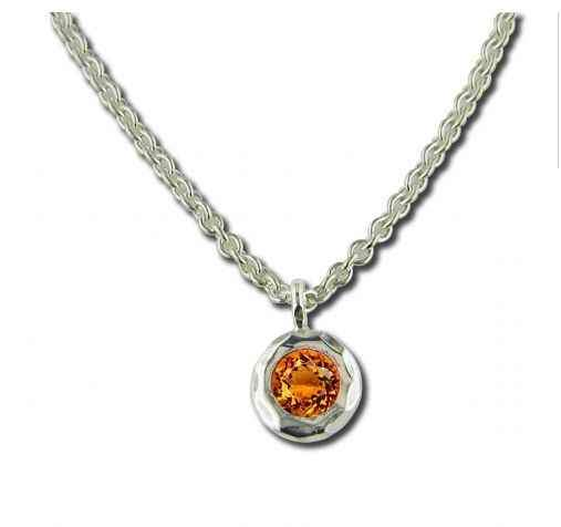 Zina Sterling-Sorrel Sky Gallery-Jewelry-Citrine Ripples Necklace