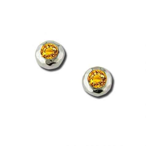 Zina Sterling-Sorrel Sky Gallery-Jewelry-Citrine Stud Earrings