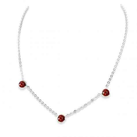 Zina Sterling-Sorrel Sky Gallery-Jewelry-Garnet Necklace