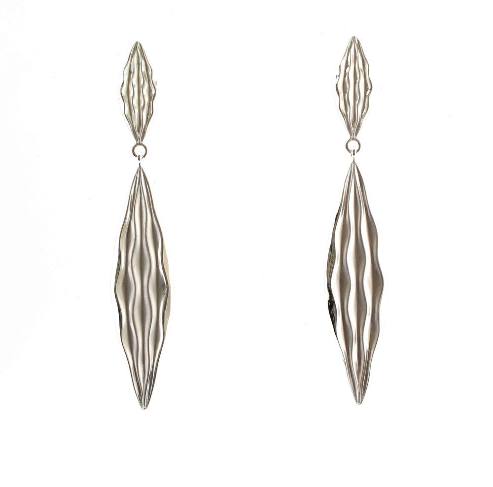 Long Desert Wave Earrings