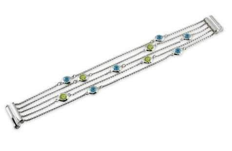 Zina Sterling-Sorrel Sky Gallery-Jewelry-Multi Strand Bracelet