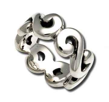 Zina Sterling-Sorrel Sky Gallery-Jewelry-Open Swirl Ring