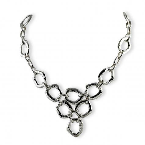 Zina Sterling-Sorrel Sky Gallery-Jewelry-Ripple Multi Link Necklace