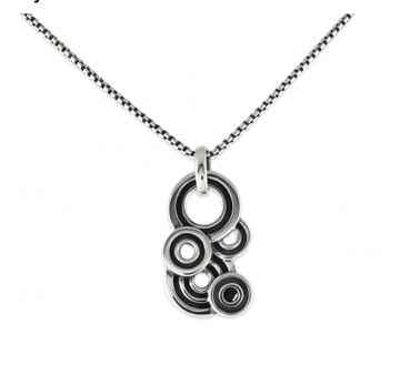 Zina Sterling-Sorrel Sky Gallery-Jewelry-Spirals Necklace