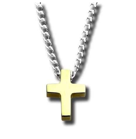 Zina Sterling-Sorrel Sky Gallery-Jewelry-Tiny Cross Pendant