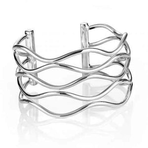 Zina Sterling-Sorrel Sky Gallery-Jewelry-Wavy Wire Bracelet