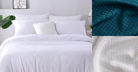 Pure Zone - Bamboo Waffle Quilt Cover Sets