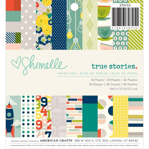 Shimelle True Stories 6x6 Paper Pad